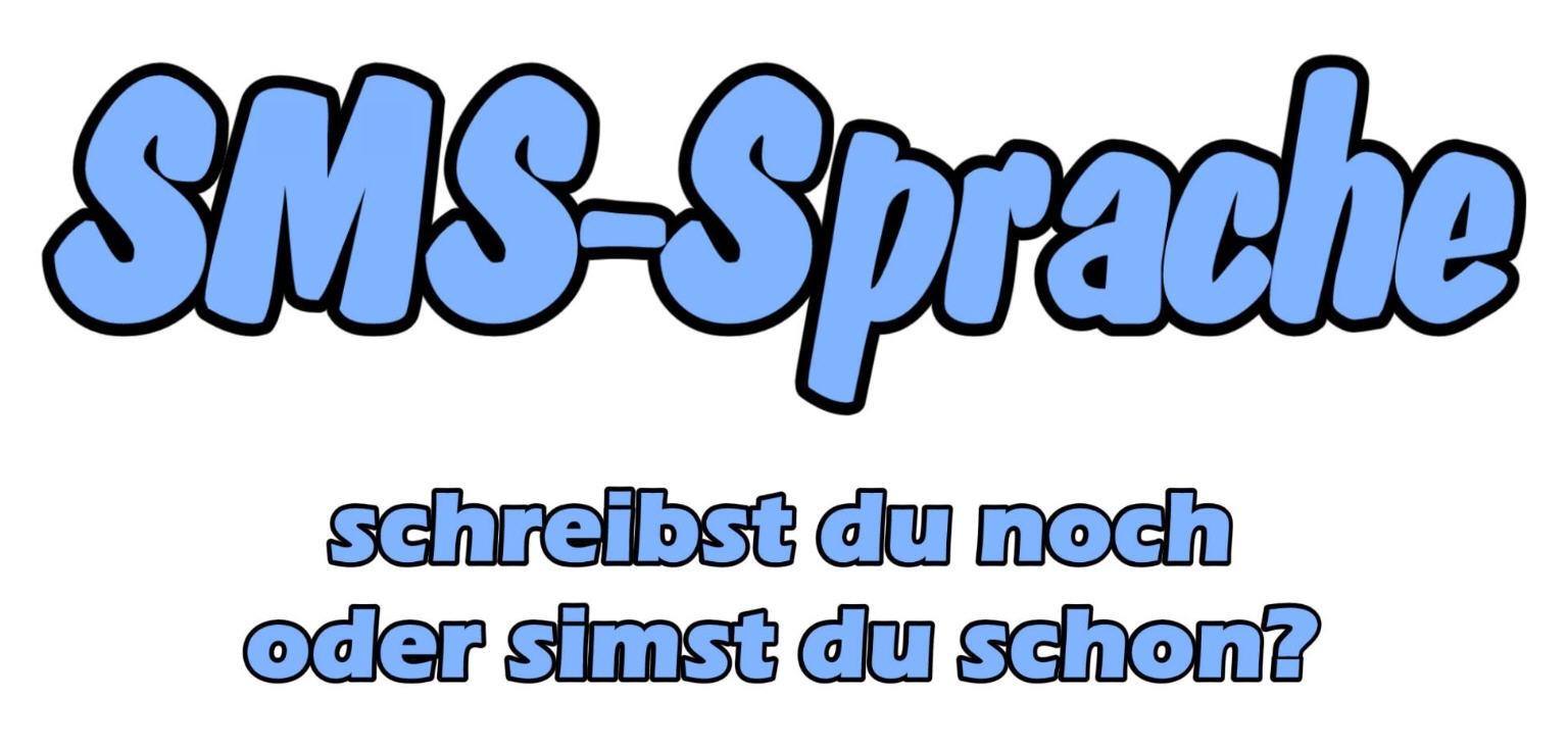 SMS-Abkürzungen auf  www.sms-sprache.de